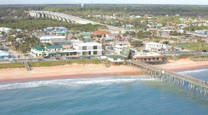 aerial flagler beach
