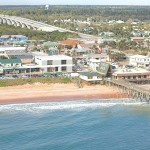 Flagler Beach Aerial Photo